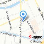 Гнездо Сороки на карте Санкт-Петербурга