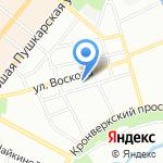 АзъБука на карте Санкт-Петербурга