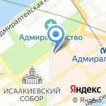 ЗанимайМесто на карте Санкт-Петербурга