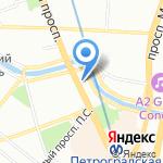 Baggins на карте Санкт-Петербурга