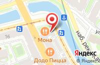 Схема проезда до компании Кассаурус в Санкт-Петербурге