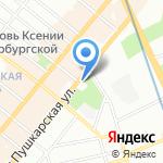 ВЕСТ Элеватор Петербург на карте Санкт-Петербурга