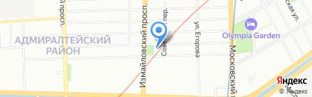 ТелекомКонсалтинг на карте Санкт-Петербурга