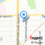 Детский сад №115 на карте Санкт-Петербурга