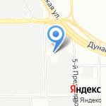 Ланга-СП на карте Санкт-Петербурга