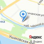 Олла на карте Санкт-Петербурга