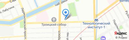 SPAR на карте Санкт-Петербурга