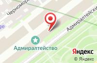 Схема проезда до компании Петербурженка в Санкт-Петербурге