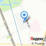 Мандарин на карте Санкт-Петербурга