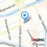 Все по 250 на карте Санкт-Петербурга