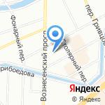Севзапвнипиэнергопром на карте Санкт-Петербурга