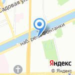 Инкогнито на карте Санкт-Петербурга