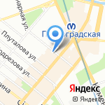 Pasta на карте Санкт-Петербурга