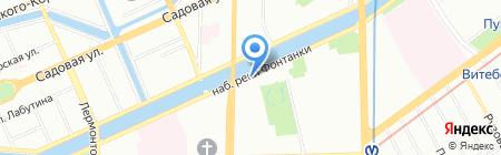 СВЕГА+ на карте Санкт-Петербурга