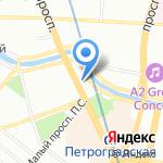 Smile на карте Санкт-Петербурга