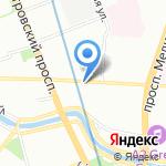 Maestra на карте Санкт-Петербурга