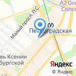 Румикс на карте Санкт-Петербурга