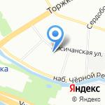 Работа от А до Я на карте Санкт-Петербурга
