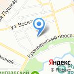 Интернет-магазин домашнего текстиля на карте Санкт-Петербурга