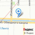 АМАРОК на карте Санкт-Петербурга