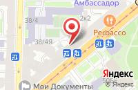 Схема проезда до компании Медиа Капитал в Санкт-Петербурге