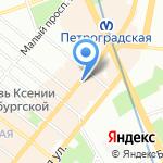 Sister's Coffee Point на карте Санкт-Петербурга