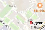Схема проезда до компании Теком в Санкт-Петербурге
