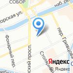 Комитет по государственному заказу г. Санкт-Петербурга на карте Санкт-Петербурга