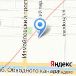 Ханд на карте Санкт-Петербурга