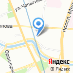 Фруктовая лавка на карте Санкт-Петербурга