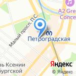 Мастерская Здоровья на карте Санкт-Петербурга