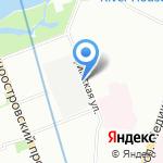 Невский Маяк на карте Санкт-Петербурга
