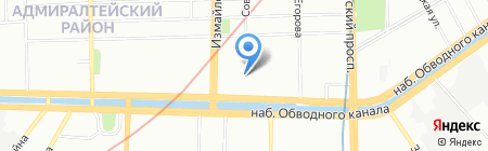 СКБ КОМ на карте Санкт-Петербурга