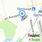 Апельсинка на карте Санкт-Петербурга