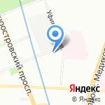 Inscale на карте Санкт-Петербурга