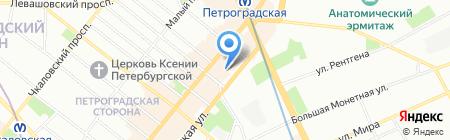 Nail SPA на карте Санкт-Петербурга