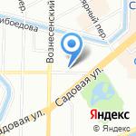 Управление уголовного розыска на карте Санкт-Петербурга