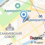 Очень Красивое Серебро на карте Санкт-Петербурга
