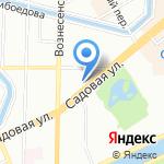 Семейные Интересы на карте Санкт-Петербурга
