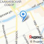Законодательное собрание г. Санкт-Петербурга на карте Санкт-Петербурга