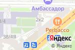 Схема проезда до компании Samovar Travel в Санкт-Петербурге