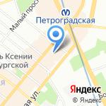 Детский сад №53 на карте Санкт-Петербурга