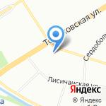 РОСЛЕКС на карте Санкт-Петербурга