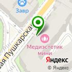 Местоположение компании Ателье на Большой Пушкарской 37