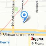 МуленРуж на карте Санкт-Петербурга