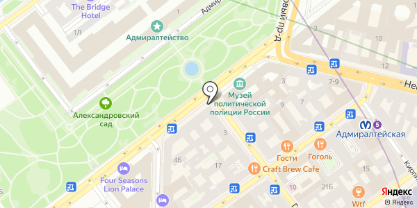 Мама. Схема проезда в Санкт-Петербурге