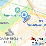 Солар Шиппинг на карте Санкт-Петербурга
