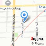 Краса на карте Санкт-Петербурга