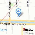 Кинерим на карте Санкт-Петербурга