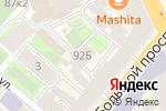Схема проезда до компании RED style в Санкт-Петербурге